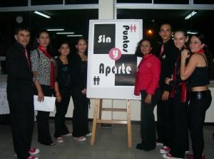 Con las Profesoras Norleybi Vila y Paola Salazar