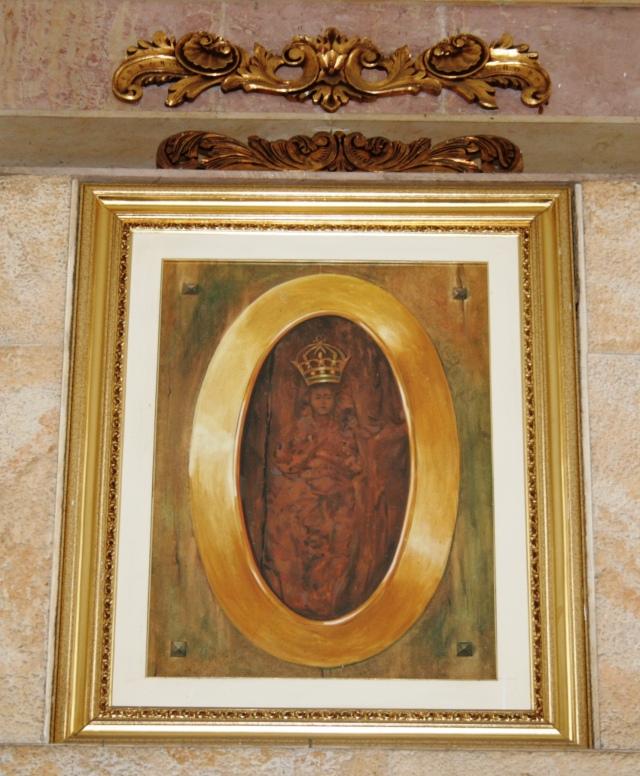 Imagen de la Virgen en Bucaramanga